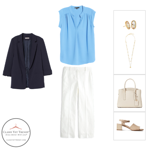 Workwear Capsule Wardrobe Summer 2020 - outfit 7