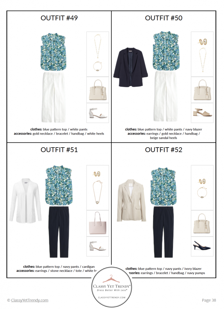 Workwear Capsule Wardrobe - Summer 2020 - pg 38
