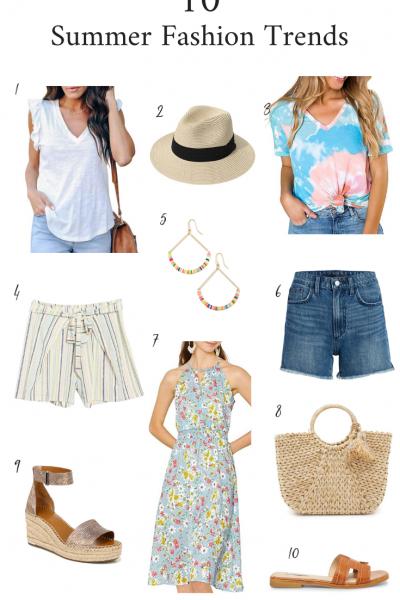 10 Summer Fashion Trends