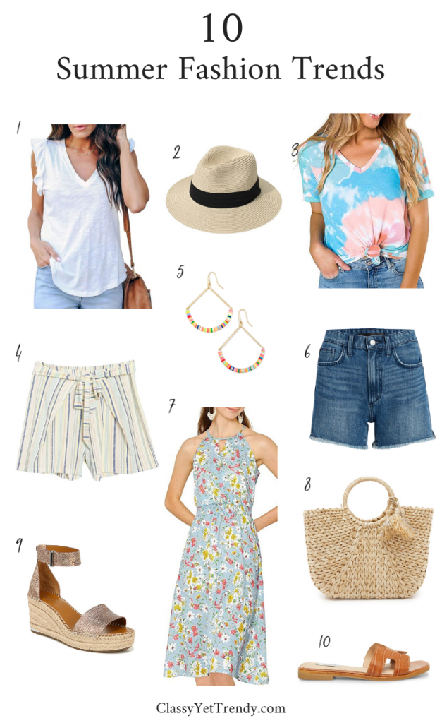 10 Summer Fashion Trends