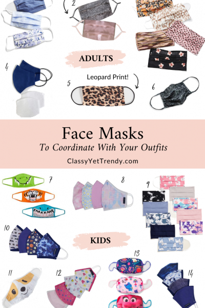 Face-Masks-To-Coordinate-With-Your-Outfits-Adult-and-Kid