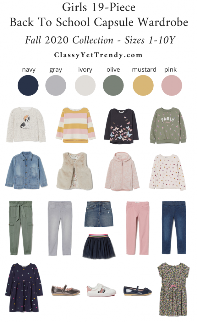Girls-19-Piece-Back-To-School-Capsule-Wardrobe-Fall-2020