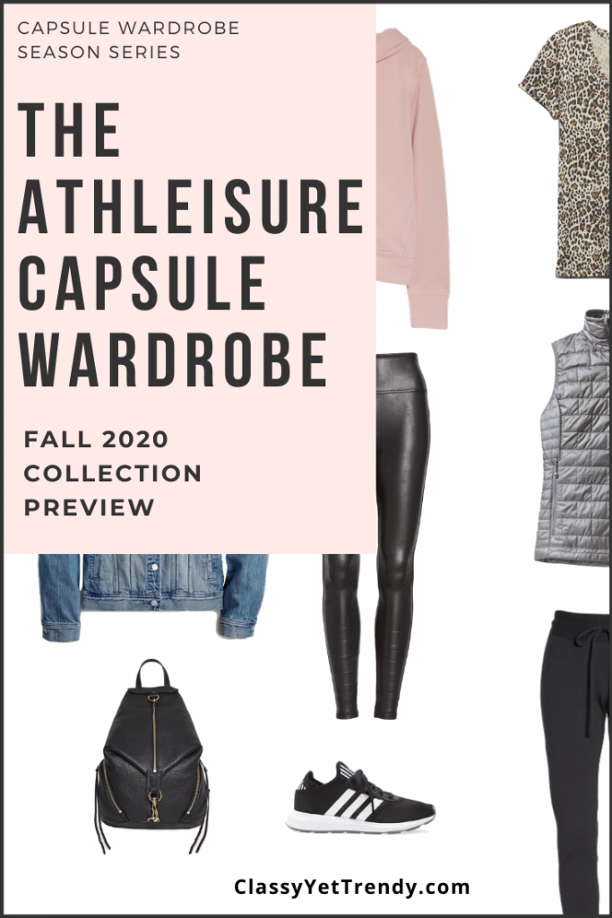 Athleisure Capsule Wardrobe Fall 2020 Sneak Peek Pin2