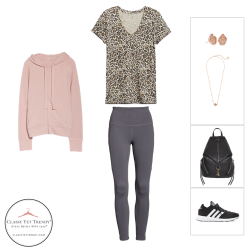 Athleisure Capsule Wardrobe Fall 2020 - outfit 1