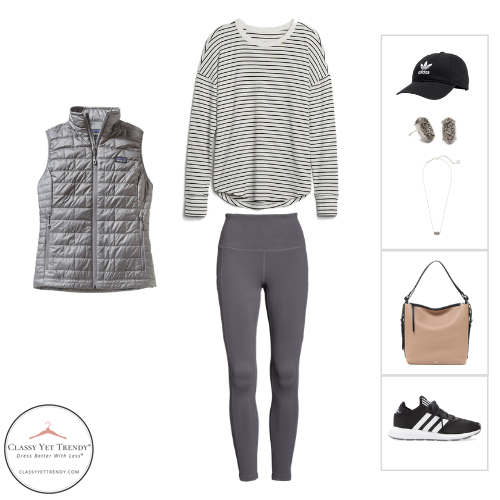 Athleisure Capsule Wardrobe Fall 2020 - outfit 17