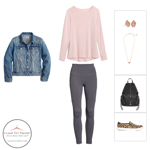 Athleisure Capsule Wardrobe Fall 2020 - outfit 30