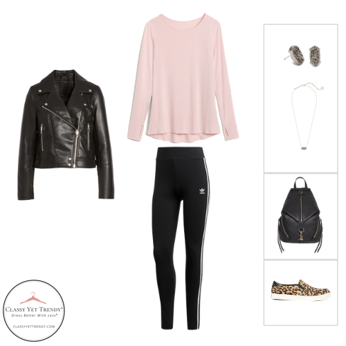 Athleisure Capsule Wardrobe Fall 2020 - outfit 37