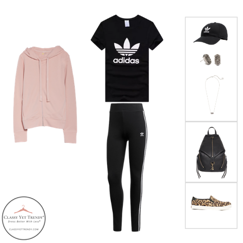 Athleisure Capsule Wardrobe Fall 2020 - outfit 51