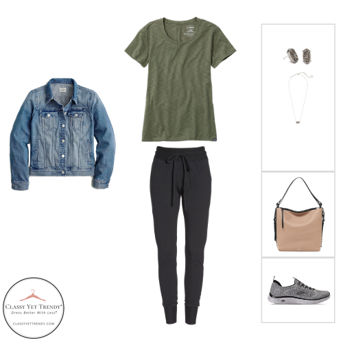 Athleisure Capsule Wardrobe Fall 2020 - outfit 84