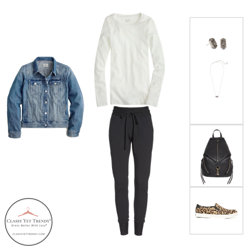 Athleisure Capsule Wardrobe Fall 2020 - outfit 96