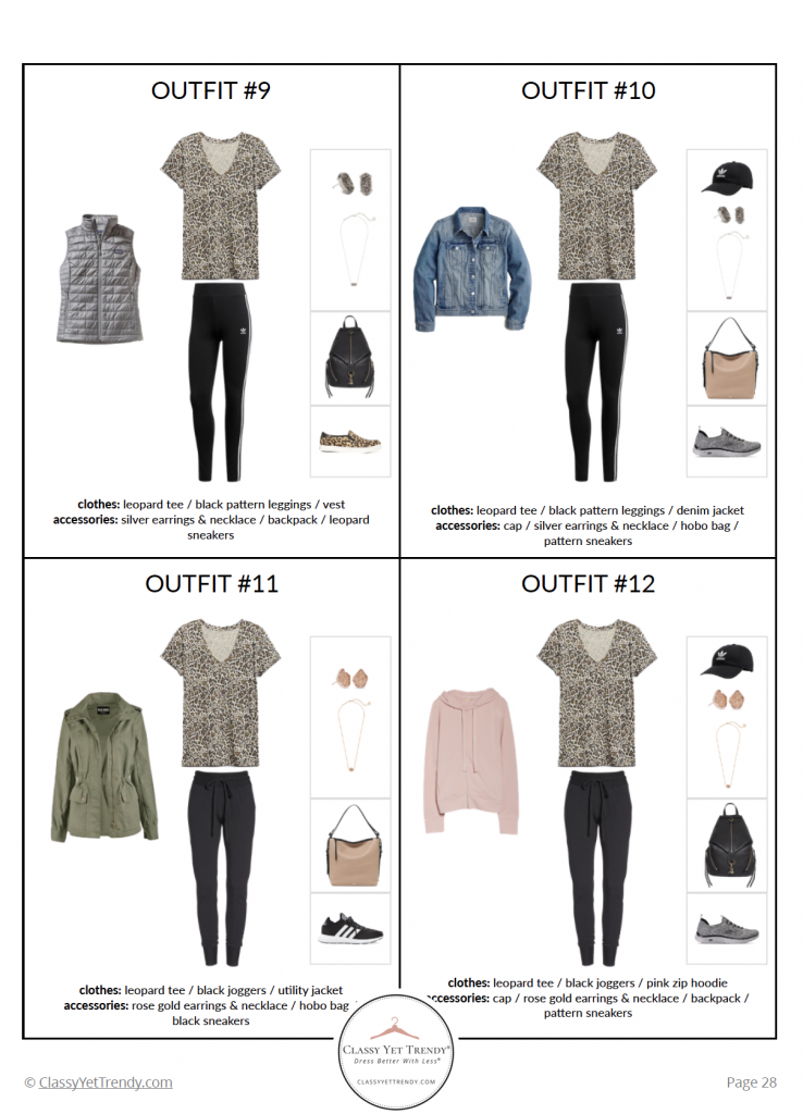 Athleisure Capsule Wardrobe Fall 2020 - pg 28