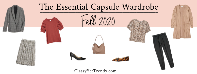 BANNER 800X300 - The Essential Capsule Wardrobe - Fall 2020