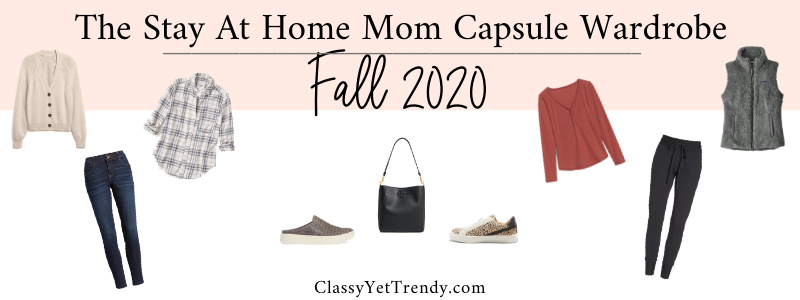 BANNER 800X300 - The Stay At Home Mom Capsule Wardrobe - Fall 2020