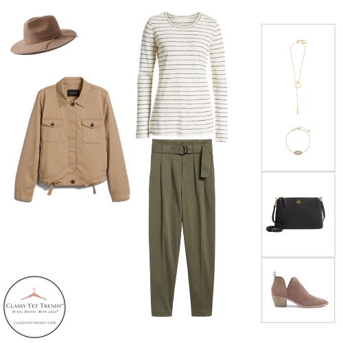 Essential Capsule Wardrobe Fall 2020 - outfit 1
