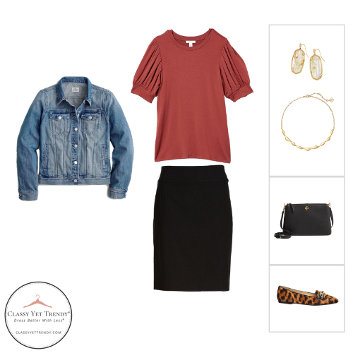 Essential Capsule Wardrobe Fall 2020 - outfit 24