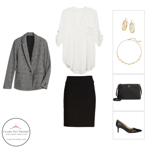 Essential Capsule Wardrobe Fall 2020 - outfit 39