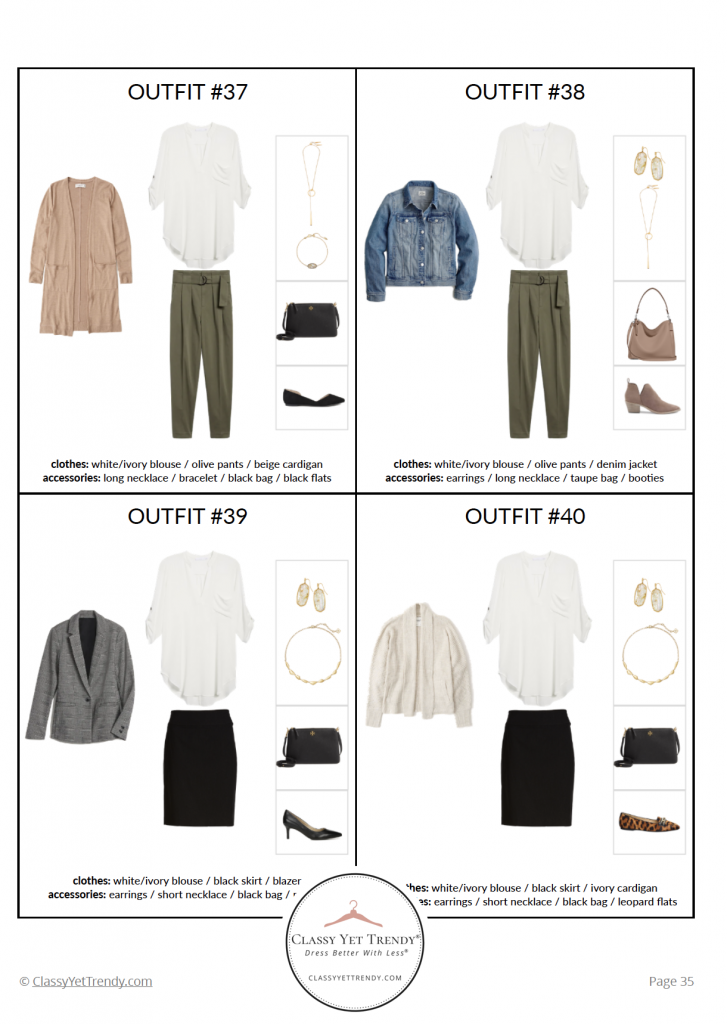 Essential Capsule Wardrobe Fall 2020 - pg35