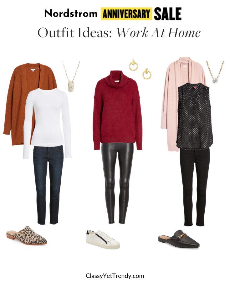 Nordstrom Anniversary Sale 2020 Outfit Ideas - Work At Home