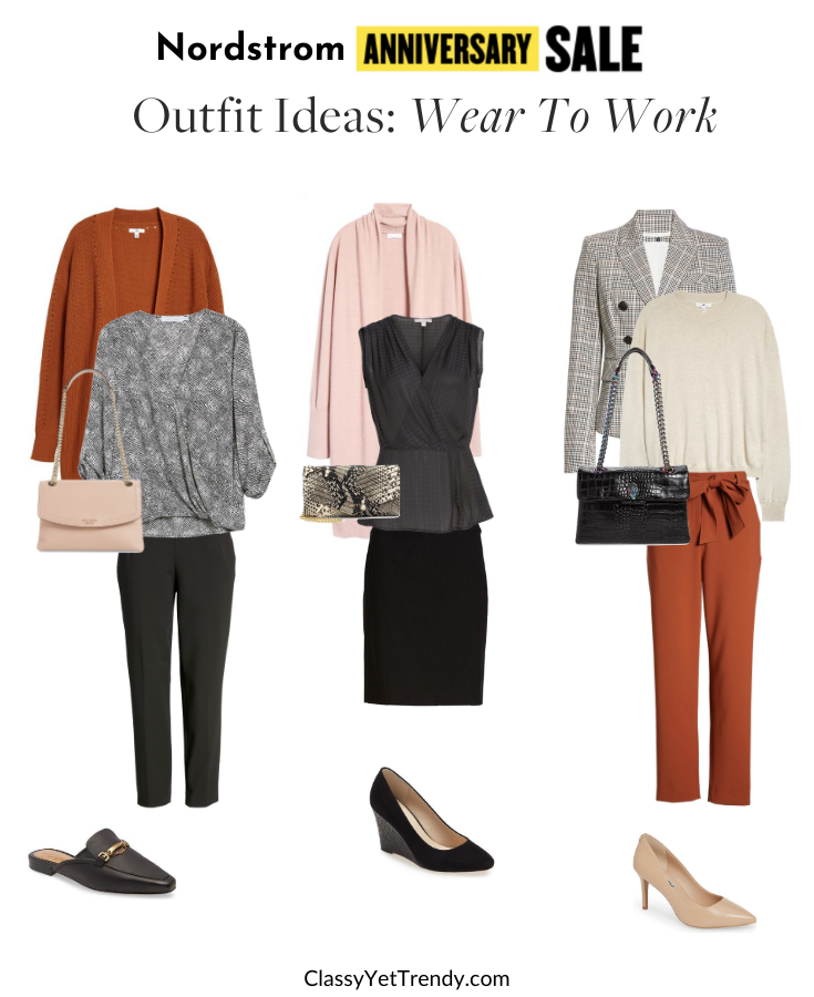 Nordstrom Anniversary Sale 2020 Outfit Ideas - Wear To Work