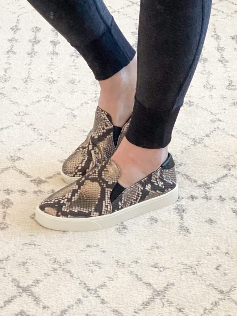 Nordstrom Anniversary Sale 2020 Try-On Round 2 - Cole Haan snake sneakers