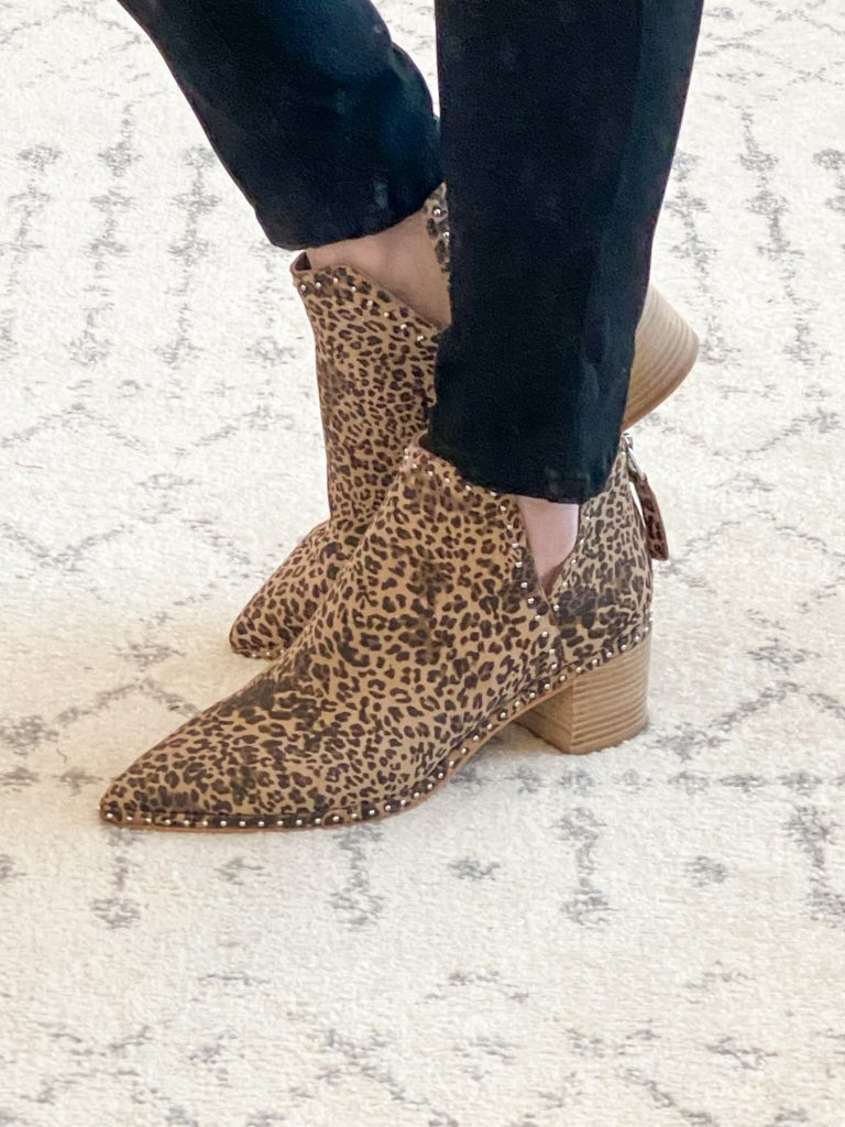 Nordstrom Anniversary Sale 2020 Try-On Round 2 - Dolce Vita leopard booties