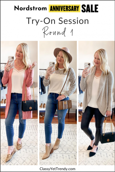 Nordstrom Anniversary Sale 2020 Try-On Session Outfit Trio