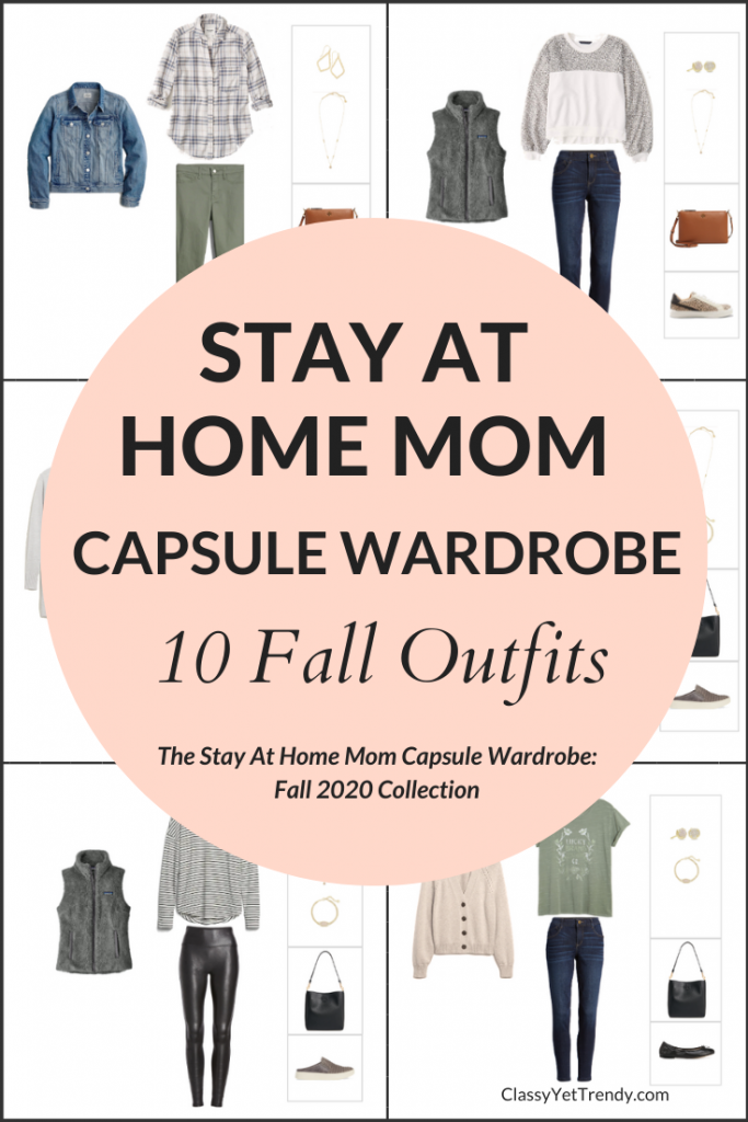 Stay At Home Mom Capsule Wardrobe Fall 2020 Preview - 10 Outfits