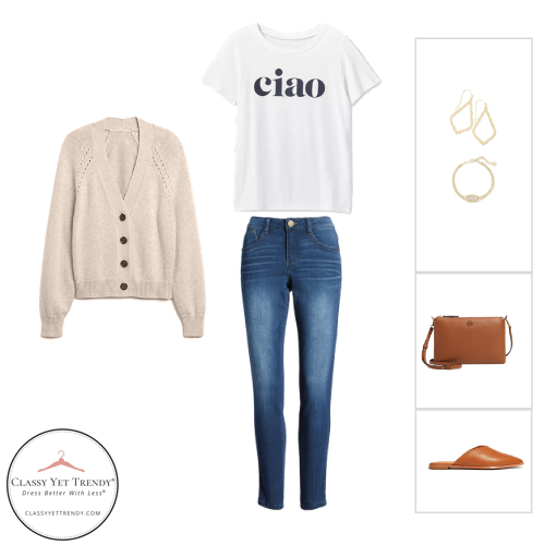 Stay At Home Mom Capsule Wardrobe Fall 2020 - outfit 1