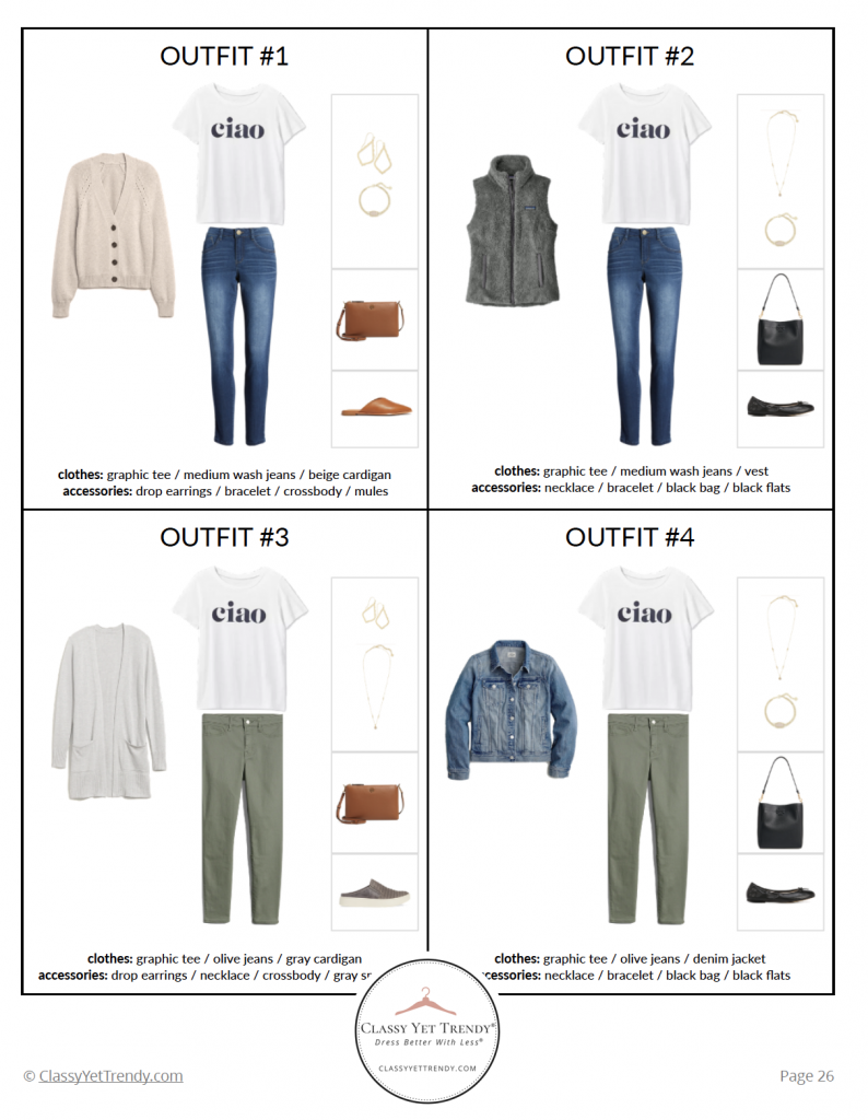 Stay At Home Mom Capsule Wardrobe Fall 2020 - pg 26