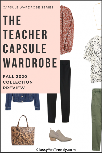 Teacher Capsule Wardrobe Fall 2020 Preview1