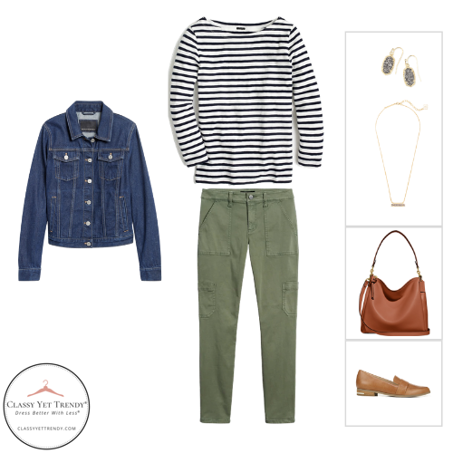 Teacher Capsule Wardrobe Fall 2020 - outfit 1