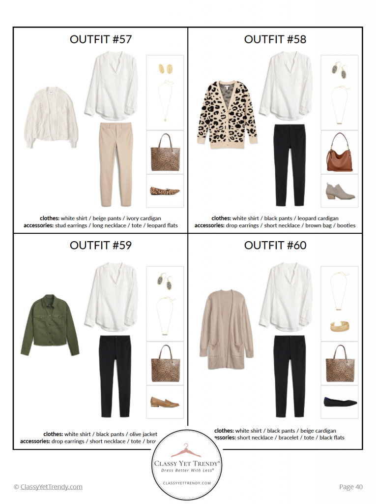 Teacher Capsule Wardrobe Fall 2020 -pg40