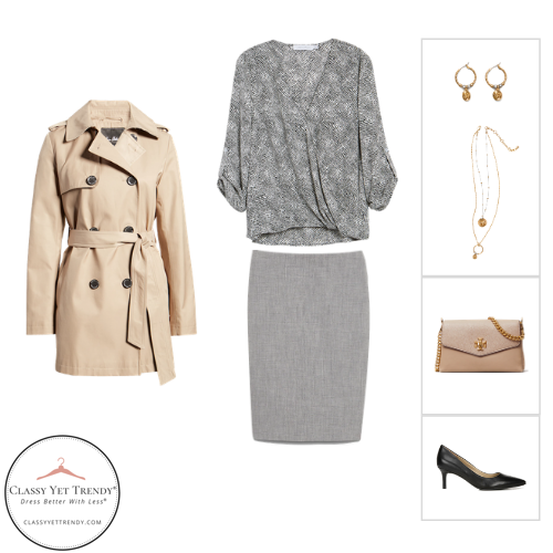 The French Minimalist Capsule Wardrobe - Fall 2020 - outfit 1