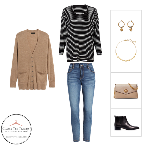 The French Minimalist Capsule Wardrobe - Fall 2020 - outfit 19