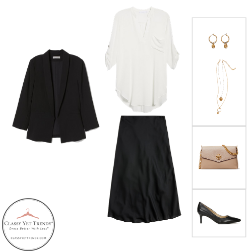 The French Minimalist Capsule Wardrobe - Fall 2020 - outfit 51