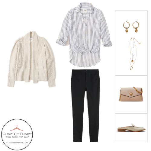 The French Minimalist Capsule Wardrobe - Fall 2020 - outfit 71