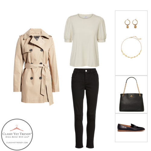 The French Minimalist Capsule Wardrobe - Fall 2020 - outfit 88