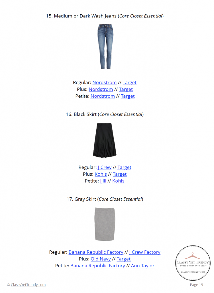 The French Minimalist Capsule Wardrobe - Fall 2020 - pg 19