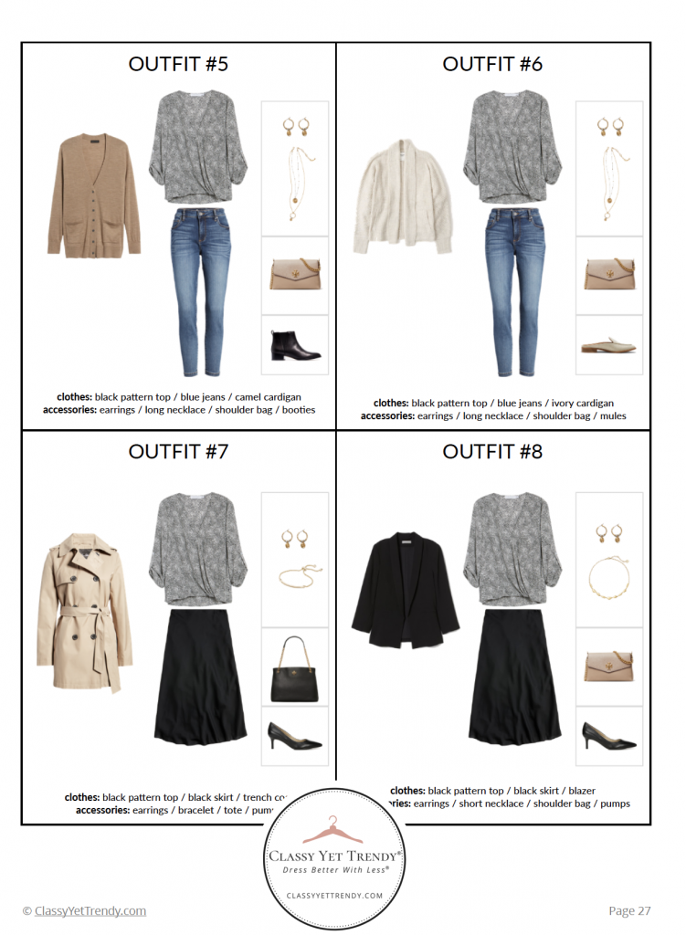 The French Minimalist Capsule Wardrobe - Fall 2020 - pg 27