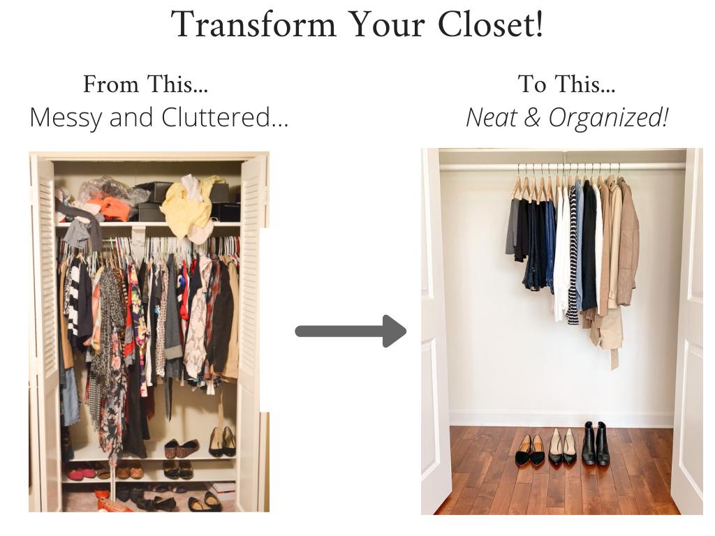 Transform Your Closet - French Minimalist Fall 2020