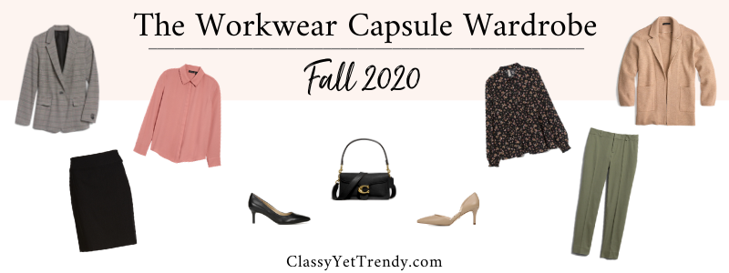 BANNER 800X300 - The Workwear Capsule Wardrobe - Fall 2020