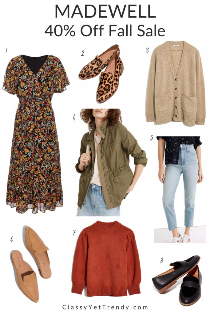 Madewell Fall Sale Favorites