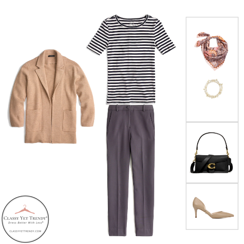 Workwear Capsule Wardrobe - Fall 2020 outfit 11