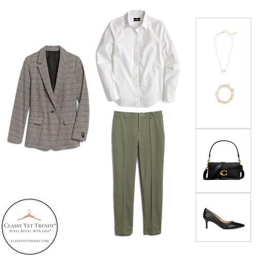 Workwear Capsule Wardrobe - Fall 2020 outfit 18