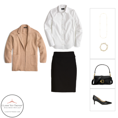 Workwear Capsule Wardrobe - Fall 2020 outfit 22
