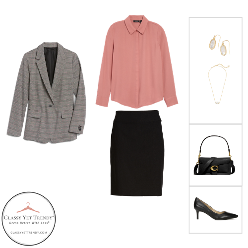 Workwear Capsule Wardrobe - Fall 2020 outfit 41