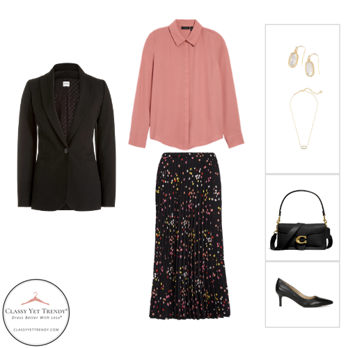 Workwear Capsule Wardrobe - Fall 2020 outfit 43