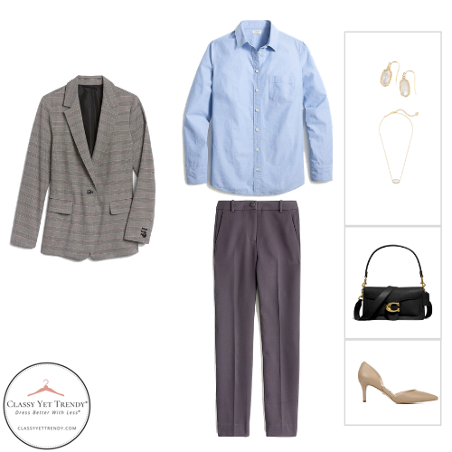 Workwear Capsule Wardrobe - Fall 2020 outfit 73