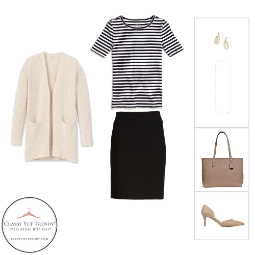 Workwear Capsule Wardrobe - Fall 2020 outfit 9