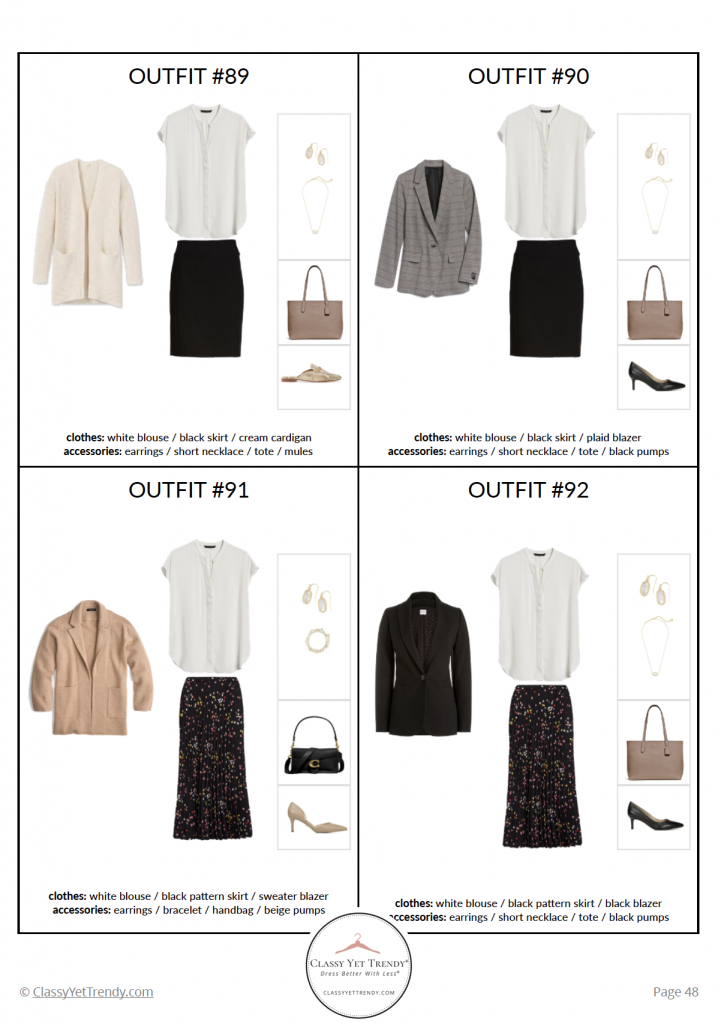 Workwear Capsule Wardrobe - Fall 2020 pg 48